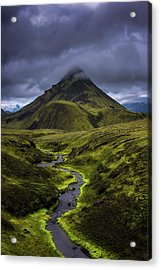 Icelandic Highlands Acrylic Print by Tor-Ivar Naess