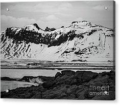 Icelandic Idyll Near Vik Acrylic Print