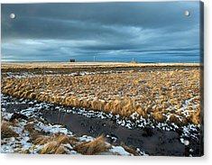Acrylic Print featuring the photograph Icelandic Landscape by Dubi Roman