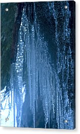 Icicles  5 Acrylic Print by John Higby
