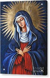 Icon 1368wd Acrylic Print