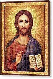 Icon Christ Acrylic Print