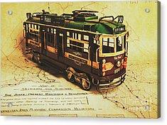 Icon Melbourne Tram Art Acrylic Print