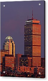 Acrylic Print featuring the photograph Iconic Boston by Juergen Roth