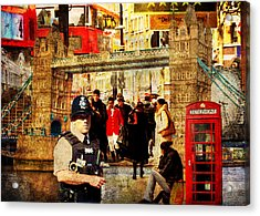 Iconic London Acrylic Print