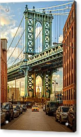 Iconic Manhattan Acrylic Print