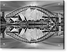 Iconic Reflections Acrylic Print