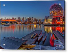 Iconic Vancouver Acrylic Print