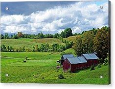 Iconic Vermont Acrylic Print