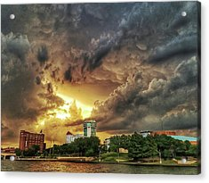 Ict Storm - From Smrt-phn L Acrylic Print