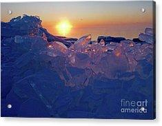 Icy Gems Acrylic Print