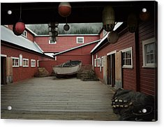 Icy Strait Point Cannery Museum Acrylic Print