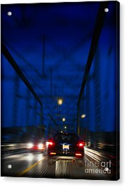 I'd Drive All Night Acrylic Print by Colleen Kammerer