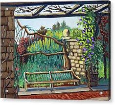Idaho Botanical Gardens Acrylic Print