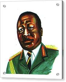 Idi Amin Dada Acrylic Print