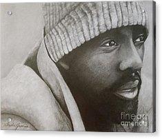 Idris Elba Acrylic Print by Lorelle Gromus