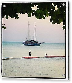 Acrylic Print featuring the photograph Idyllic Setting To Idle The Time Away by Mr Photojimsf