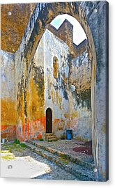 Acrylic Print featuring the photograph If These Walls Could Speak by John Bartosik