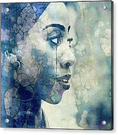 Acrylic Print featuring the digital art If You Leave Me Now  by Paul Lovering