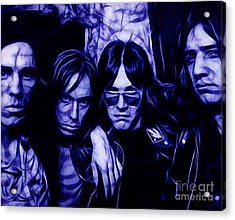 Iggy And The Stooges Collection Acrylic Print by Marvin Blaine
