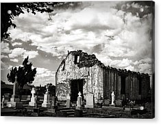 Iglesia Cementerio Acrylic Print