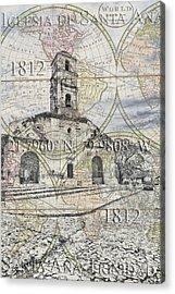 Iglesia De Santa Ana Passport Acrylic Print
