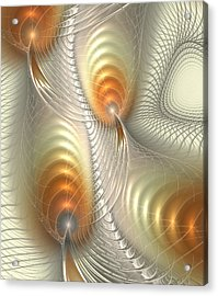 Acrylic Print featuring the digital art Ignis Fatuus by Anastasiya Malakhova
