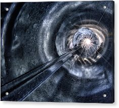 Ignition Acrylic Print by Mark Fuller