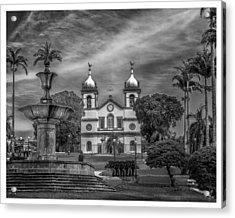 Igreja Da Matriz- Vassouras-rj Acrylic Print