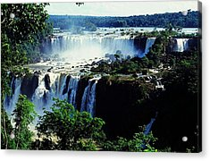 Iguacu Waterfalls Acrylic Print by Juergen Weiss
