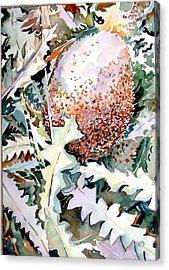 Ikabani Acrylic Print by Mindy Newman