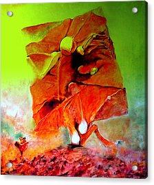 Ikar Acrylic Print by Henryk Gorecki