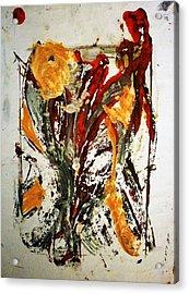 Ikebana Acrylic Print by Hugo Razlerfight
