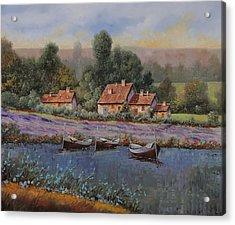 Il Borgo Tra Le Lavande Acrylic Print
