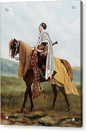 Il Cavaliere Giallo Acrylic Print