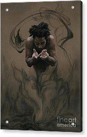 Il Dono The Gift Acrylic Print by Kelly Borsheim