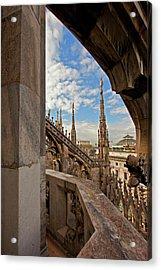 il Duomo di Milano 1 Acrylic Print by Art Ferrier