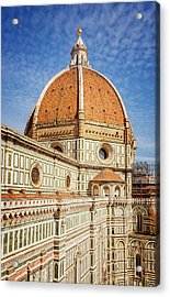 Acrylic Print featuring the photograph Il Duomo Florence Italy by Joan Carroll