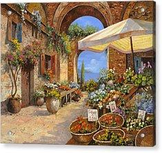 Il Mercato Del Lago Acrylic Print