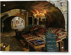 Il Mercato Francese Acrylic Print