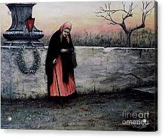 Il Monumento Acrylic Print