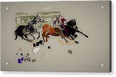 Il Palio Once Again Vr Acrylic Print