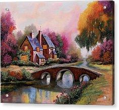 Il Ponticello A Colori Acrylic Print