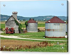 Ilini Farm Acrylic Print by Marty Koch