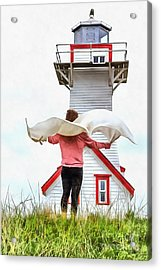 I'll Fly Away Acrylic Print