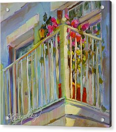 I'll Leave The Porch Light On Acrylic Print by Chris Brandley