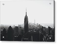 I'll Take Manhattan  Acrylic Print by J Montrice