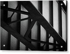 Illinois Terminal Bridge Acrylic Print