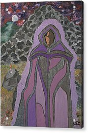 Acrylic Print featuring the painting Illumination by Carolyn Cable