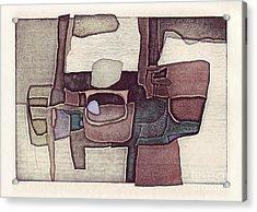 Illusion I Acrylic Print by Agnese Kurzemniece